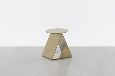 Tack Stool in Brass