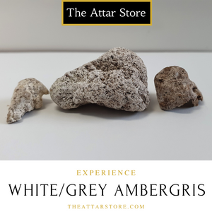 Authentic White/Grey Ambergris
