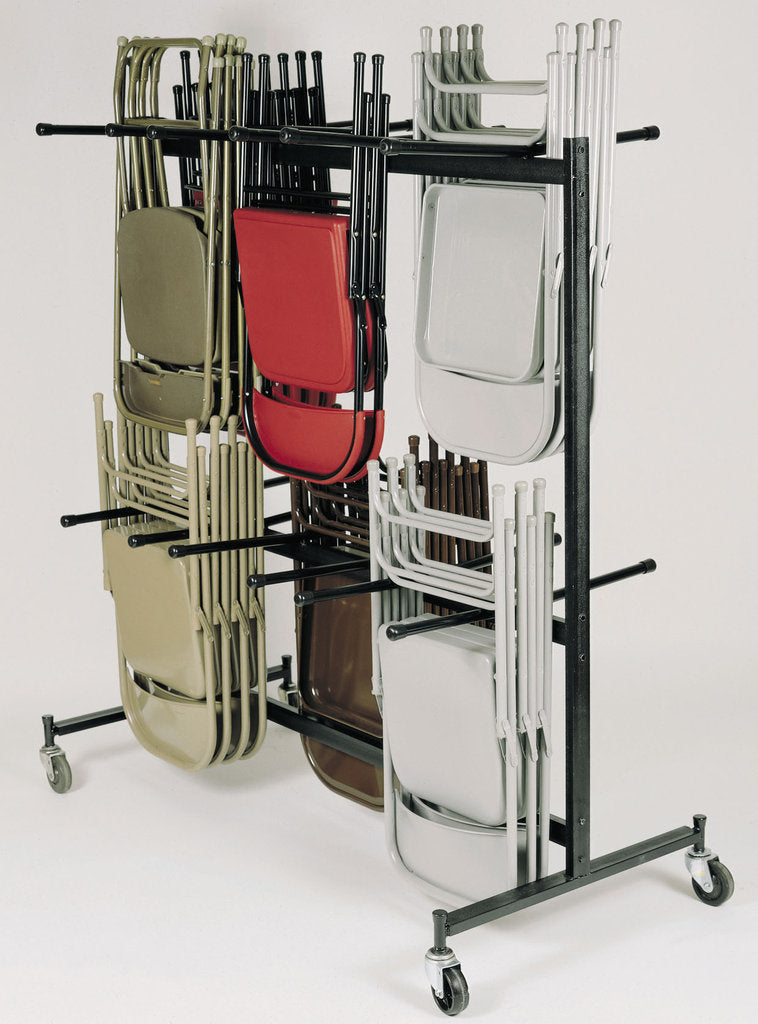 Double-Tier Hanging Chair Truck, National Public Seating 84