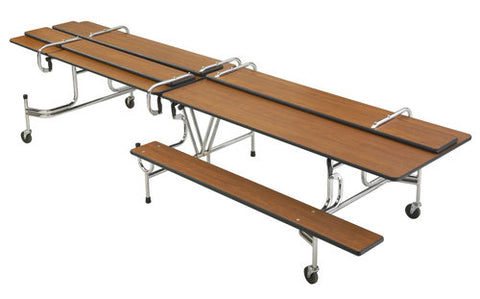 Sico Cafeteria Table Bench Style