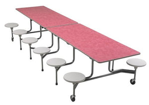 Sico Cafeteria Table 12' - 12 Stool Rectangle