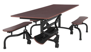 Sico Undergraduate Cafeteria Table Bench Style