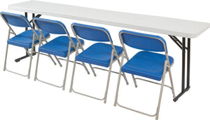Folding Seminar Table, National Public Seating BT1800 Series