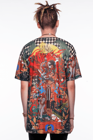DEITY ALL OVER PRINT TEE
