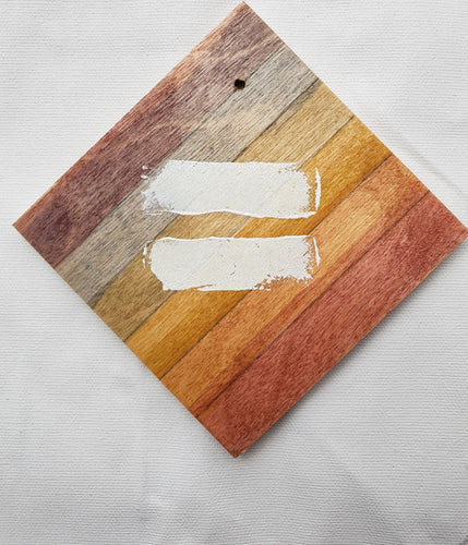 Coaster/Ornament - Wood Sqare 3x3