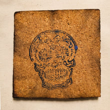 Load image into Gallery viewer, Coaster - Cork Square 4 x 4 x 1/5 - Charcoal Edge