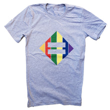 Load image into Gallery viewer, T-Shirt - Rainbow Diamond Equality
