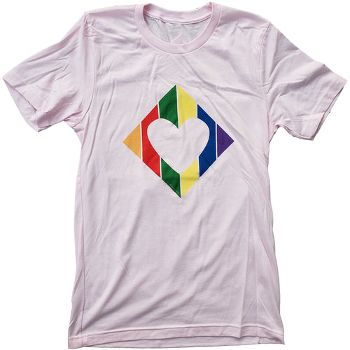 T-Shirt - Rainbow Diamond Heart