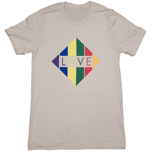 T-Shirt -  Rainbow Diamond Love