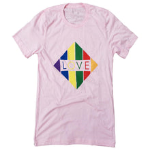 Load image into Gallery viewer, T-Shirt -  Rainbow Diamond Love