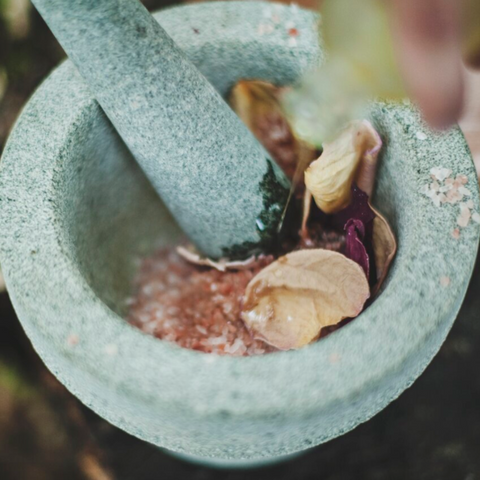 Ayurveda mortar and pestle blog image