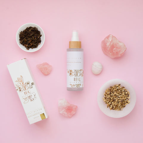 organic ingredients face mist