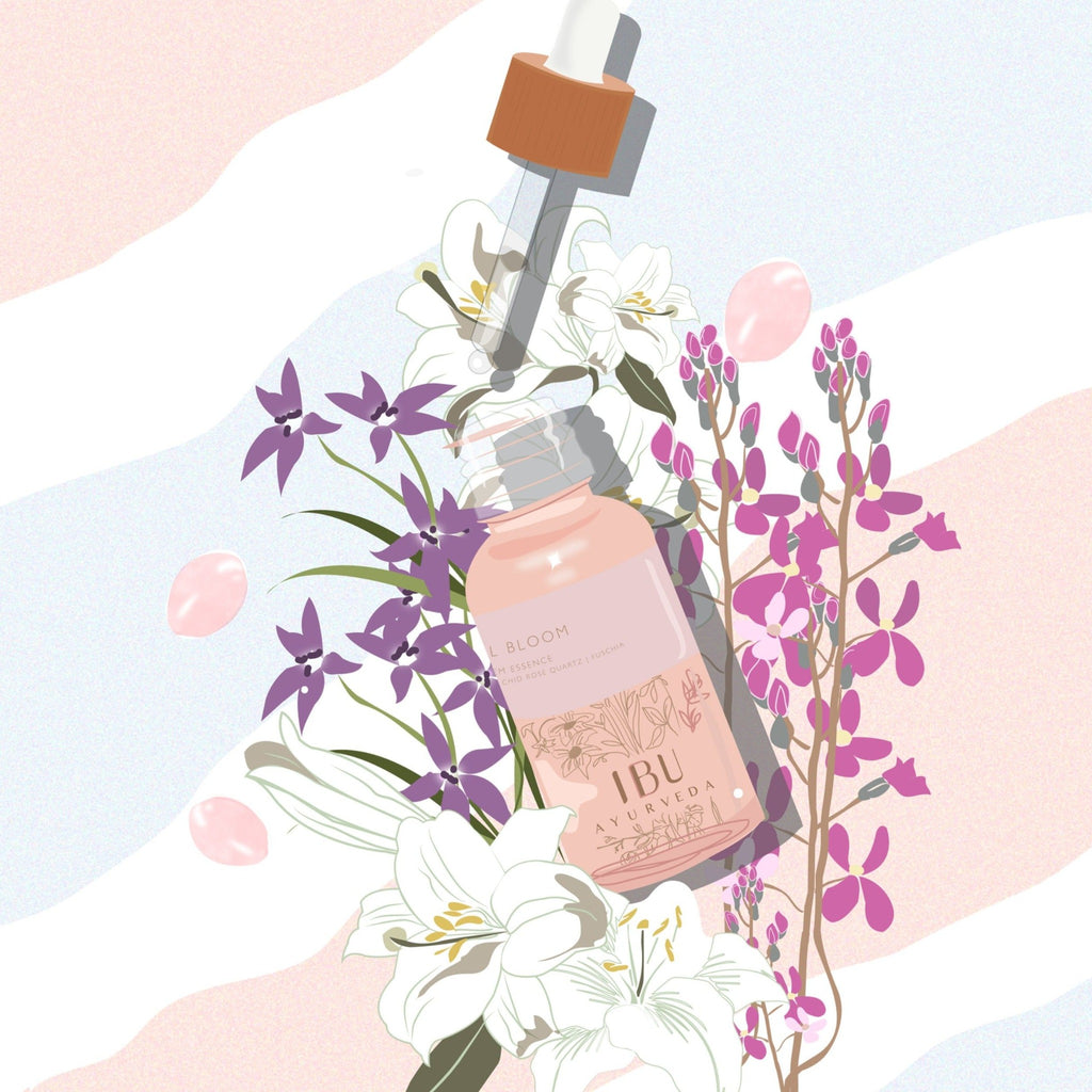 FULL BLOOM  Flower & Gem Essence
