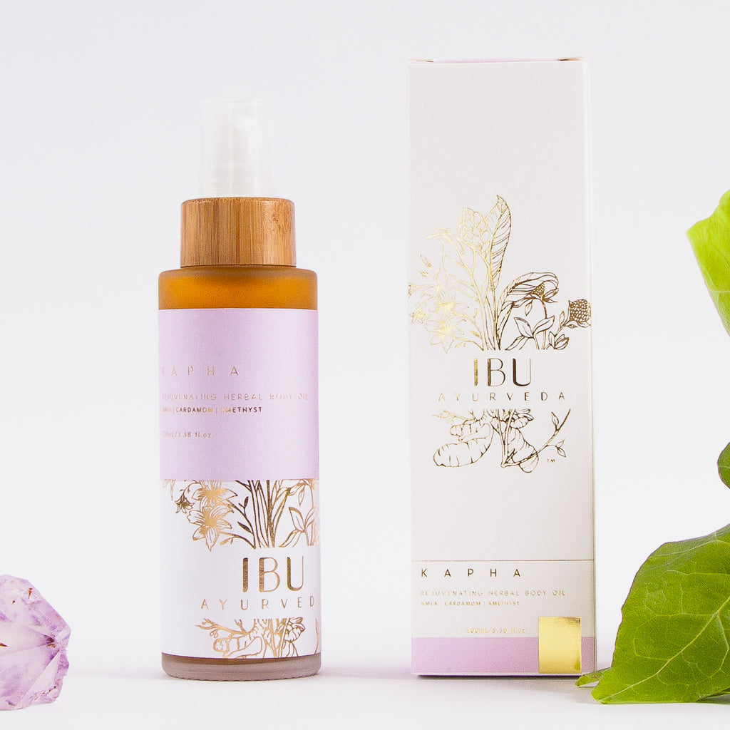 KAPHA Rejuvenating Herbal Body Oil - Ibu Ayurveda