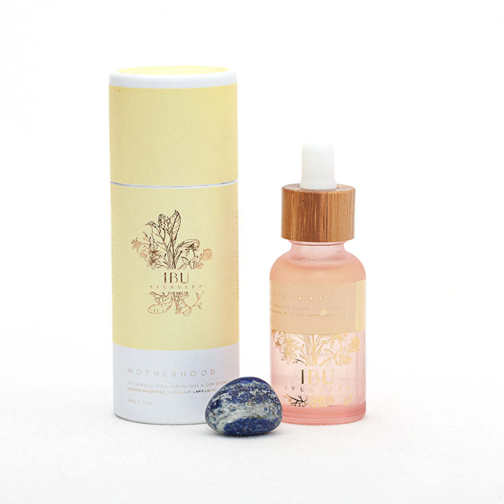 MOTHERHOOD Flower & Gem Essence - Ibu Ayurveda