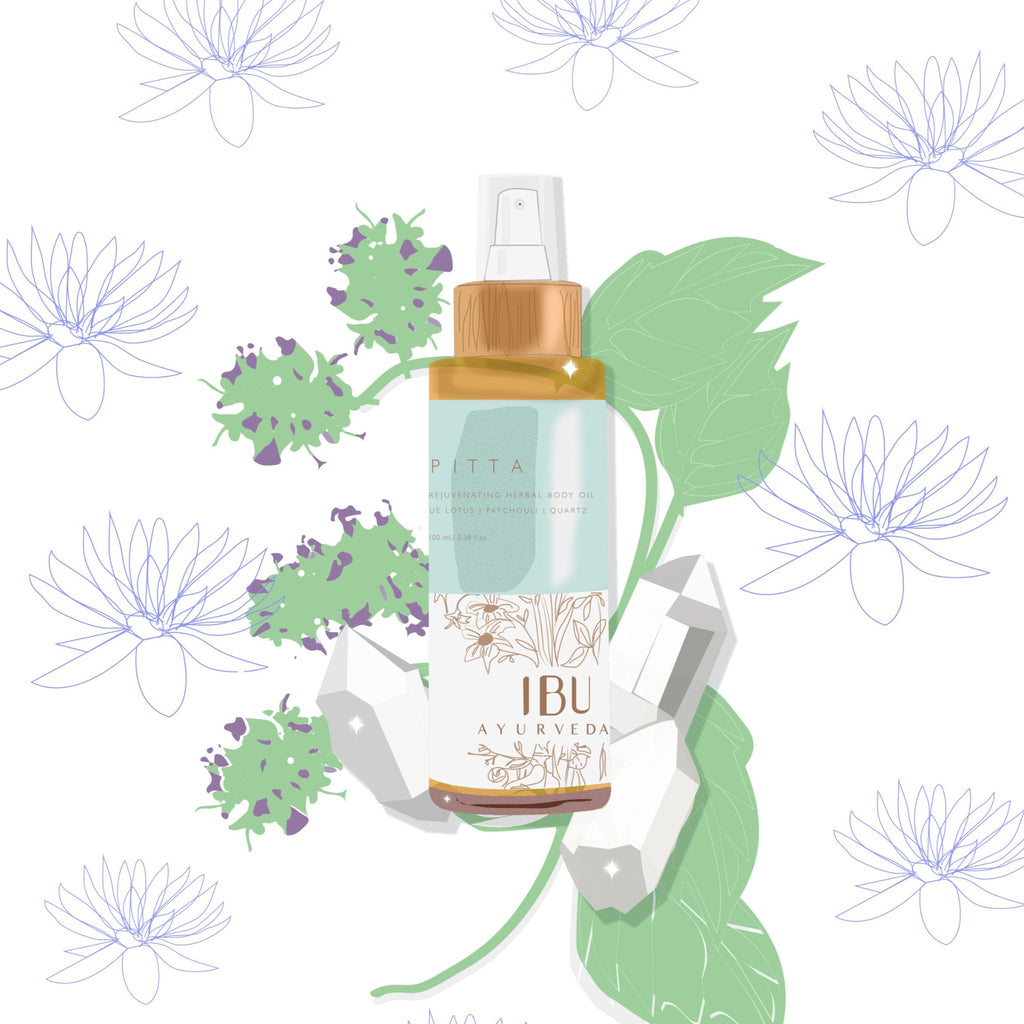 PITTA Herbal Body Oil
