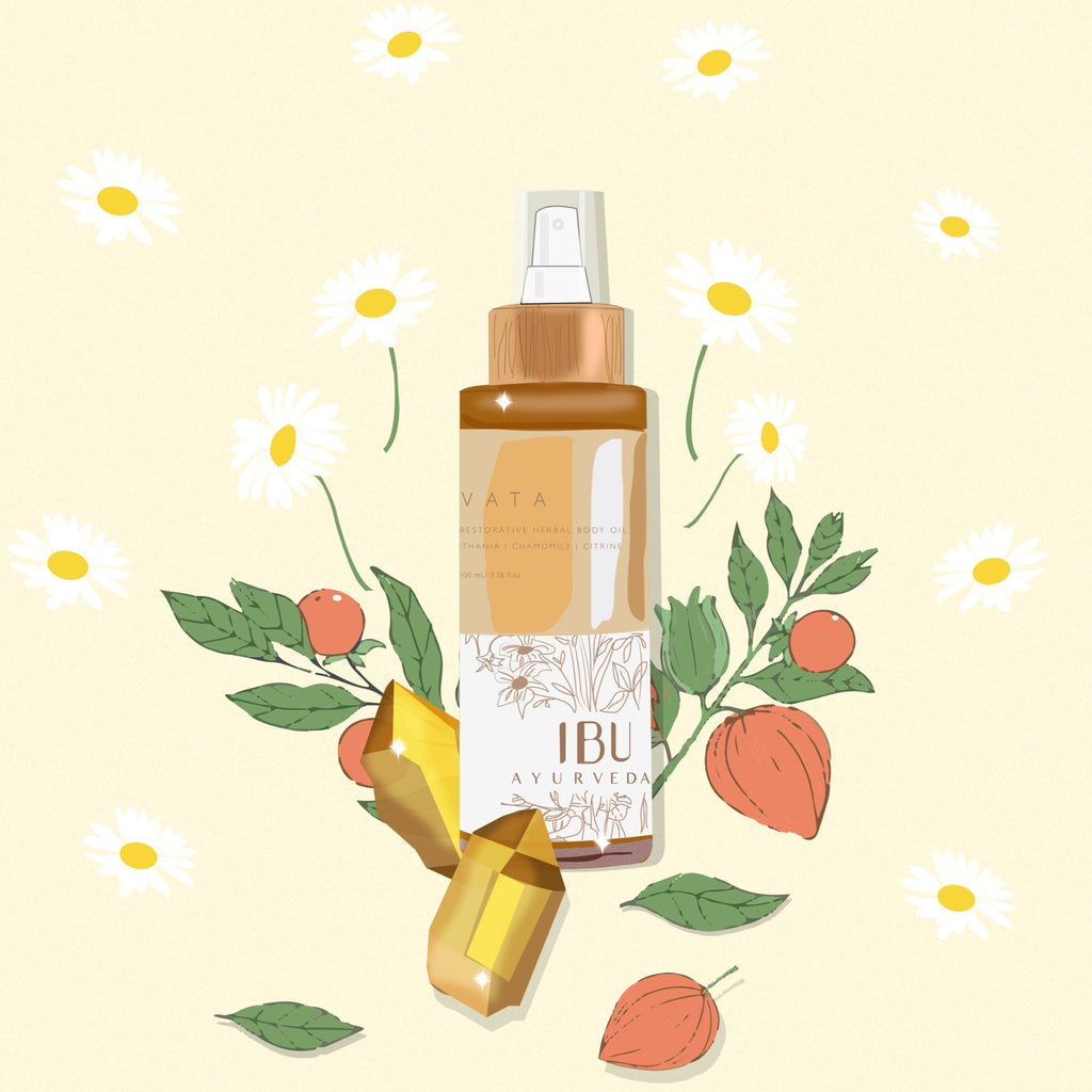 VATA Herbal Body Oil