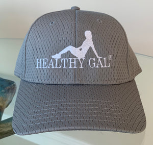 Hat HEALTHY GAL Gray - HEALTHY GAL