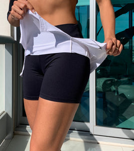 Balance - Training Short/Skirt White