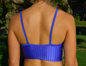 Sports Bra Blue - HEALTHY GAL