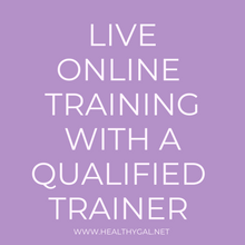 Load image into Gallery viewer, Private Group Training - 12 Sessions | Online | Limited Offer - HEALTHY GAL