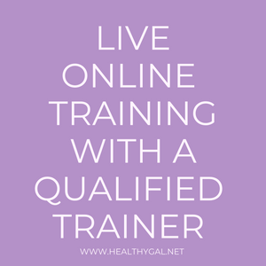 ONE ON ONE Virtual Personal Training - HEALTHY GAL