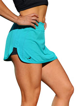 Load image into Gallery viewer, Balance Training Short/Skirt Green - HEALTHY GAL