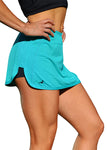 Balance Training Short/Skirt Green - HEALTHY GAL
