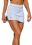Balance II - Training Short/Skirt White - HEALTHY GAL