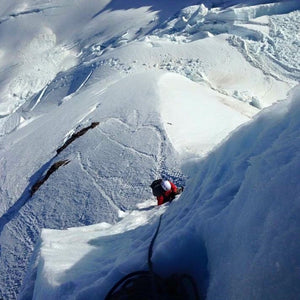Ski-mountaineering. Mountaineering-with-skis.