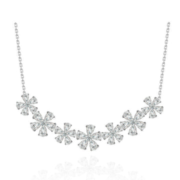 925 Sterling Silver CZ Diamond  Pendant