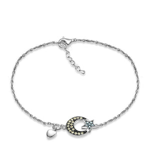 925 Sterling Silver Bracelet with CZ Diamond,  Fashion Jewelry