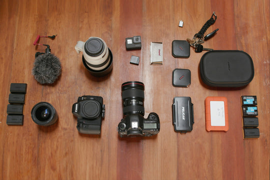 Gear: Alex's Travel Kit