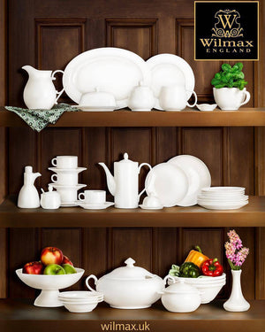 FINE PORCELAIN SET: TEAPOT 13 OZ | 375 ML & CUP 11 OZ | 340 ML