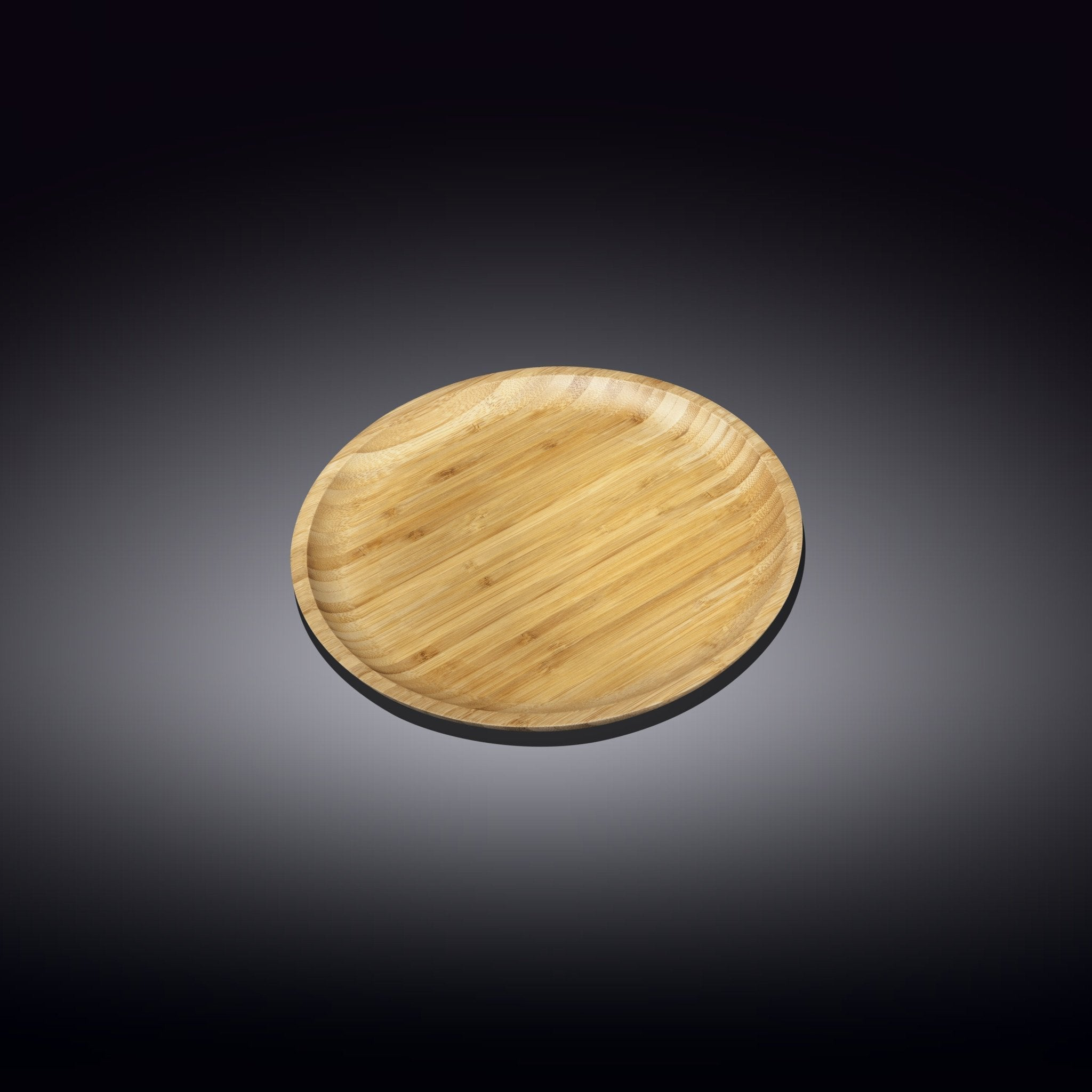 NATURAL BAMBOO PLATE 4"
