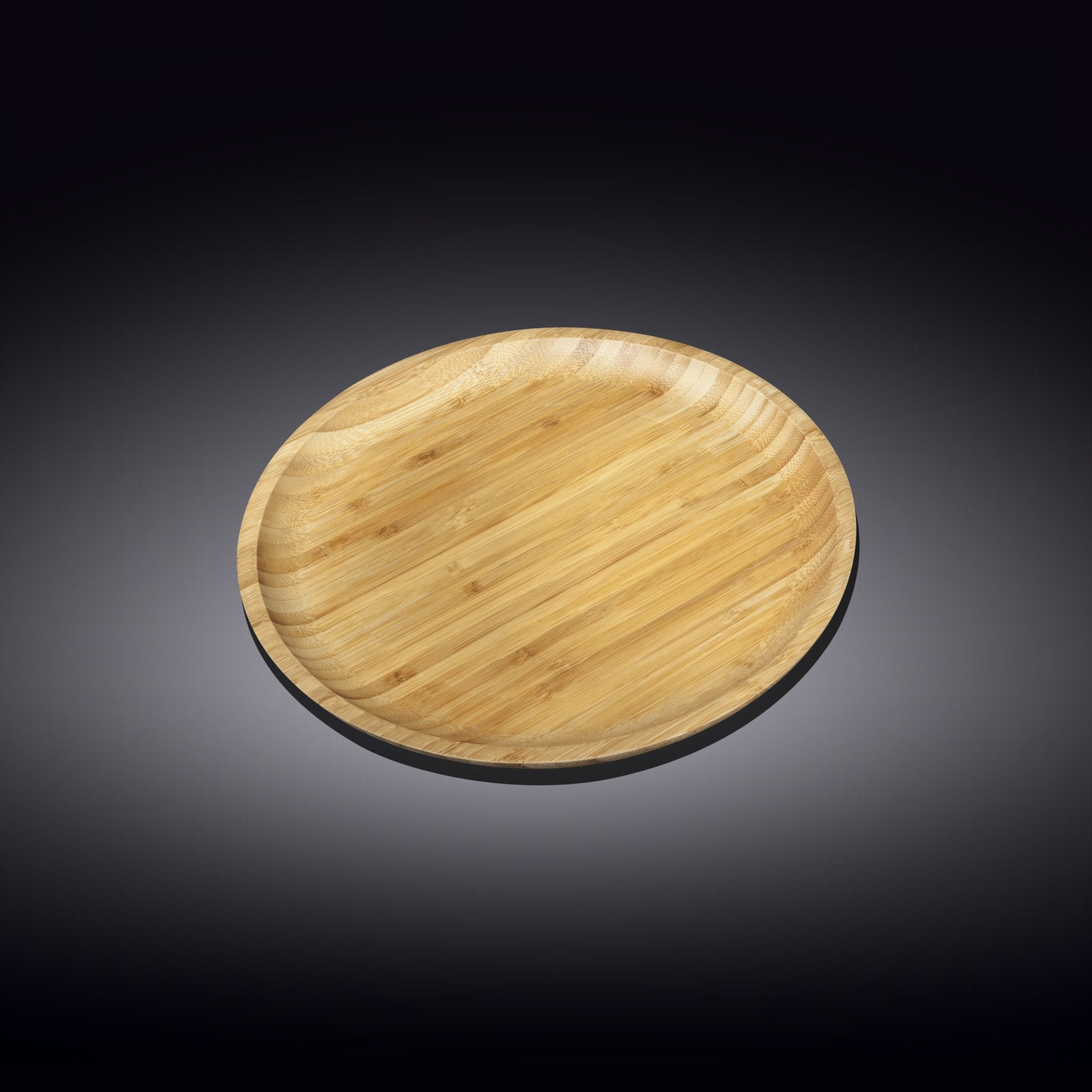 NATURAL BAMBOO PLATE 7"