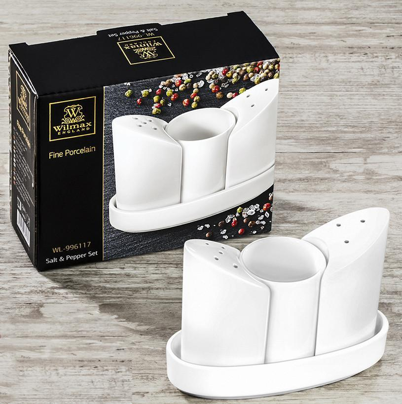 FINE PORCELAIN SALT & PEPPER SET
