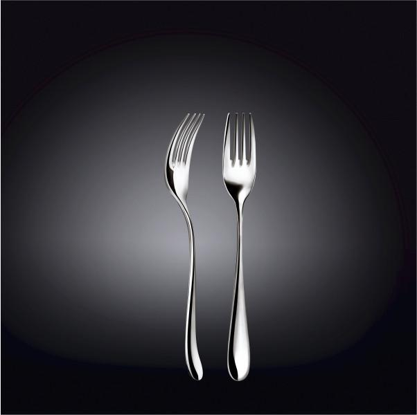 18/10 STAINLESS STEEL DESSERT FORK 7.5"