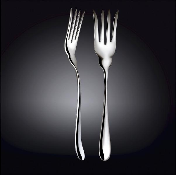 18/10 STAINLESS STEEL FISH SERVING FORK 10.5"