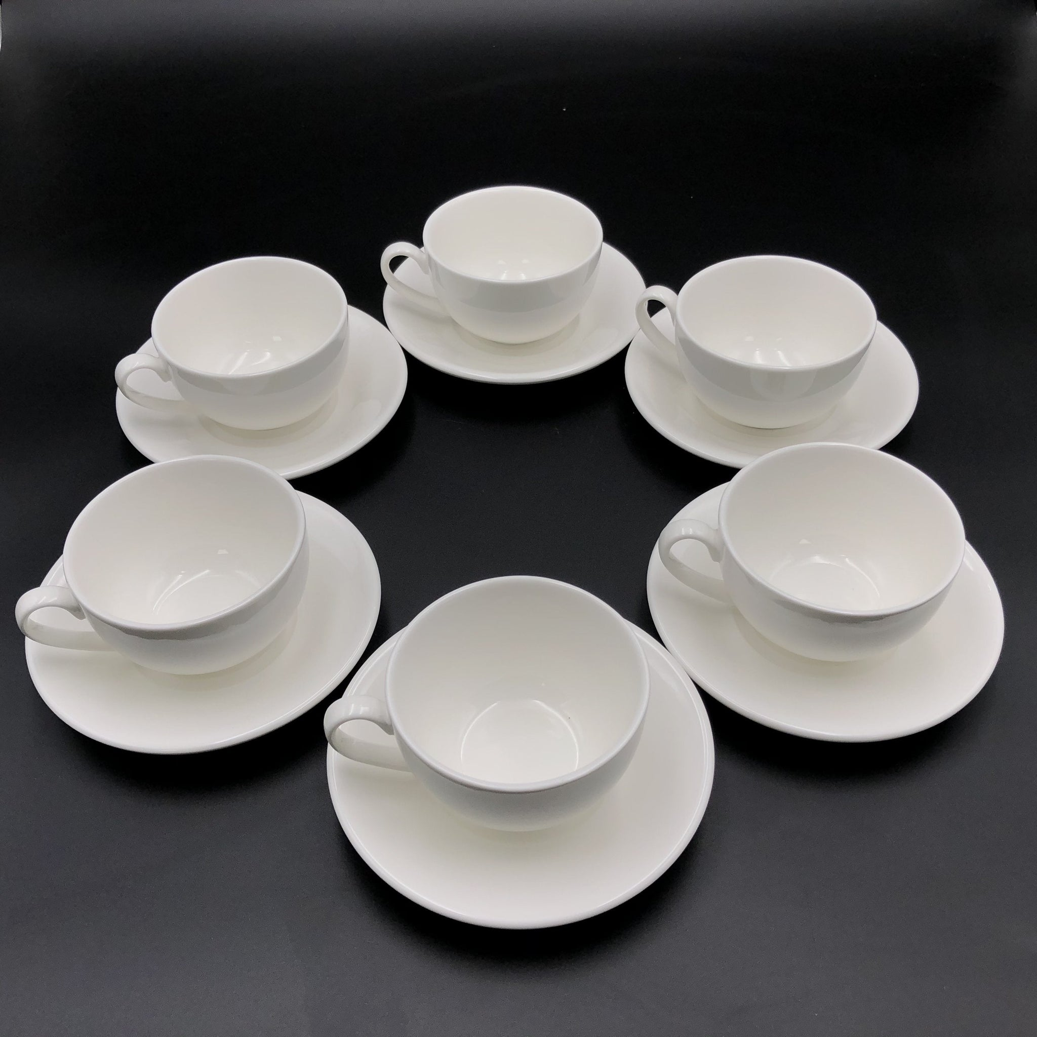 Fine Porcelain 15 Piece Tea Serving Set For 6  WL-555036
