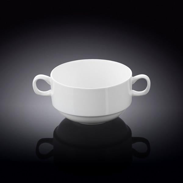 FINE PORCELAIN SOUP CUP  4"