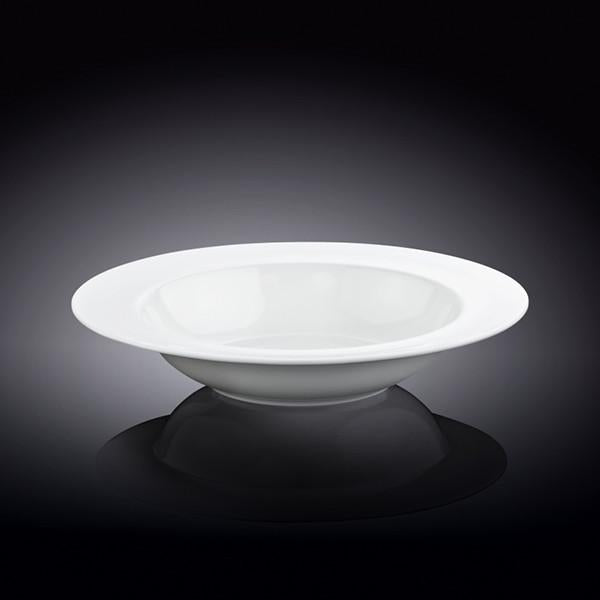 FINE PORCELAIN DEEP PLATE 8"