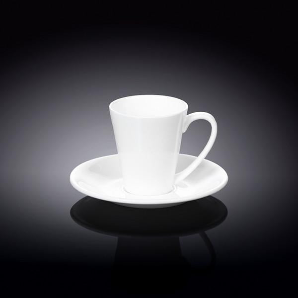 FINE PORCELAIN 4 OZ | 110 ML COFFEE CUP & SAUCER