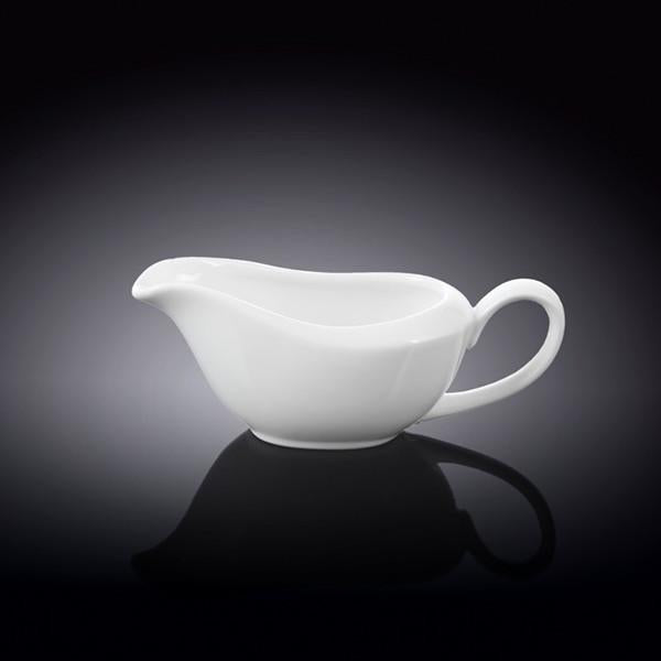 FINE PORCELAIN SAUCE BOAT 3 OZ | 100 ML