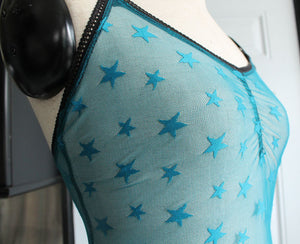 Sheer Star Bodysuit