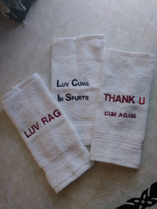Funny Luv Rag Towels