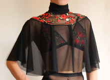 Mercy Luxury Embroidered Capelette