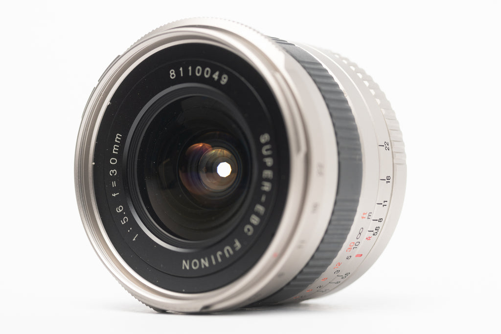Fuji 30mm lens f/5.6 for Fuji TX-1, TX-2, and Xpan cameras