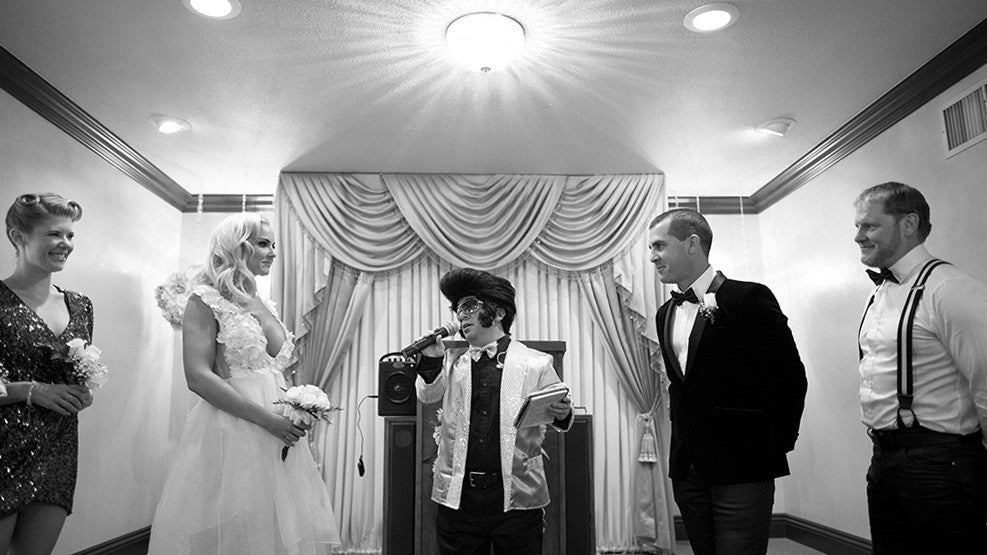 A Mini Elvis Wedding Las Vegas