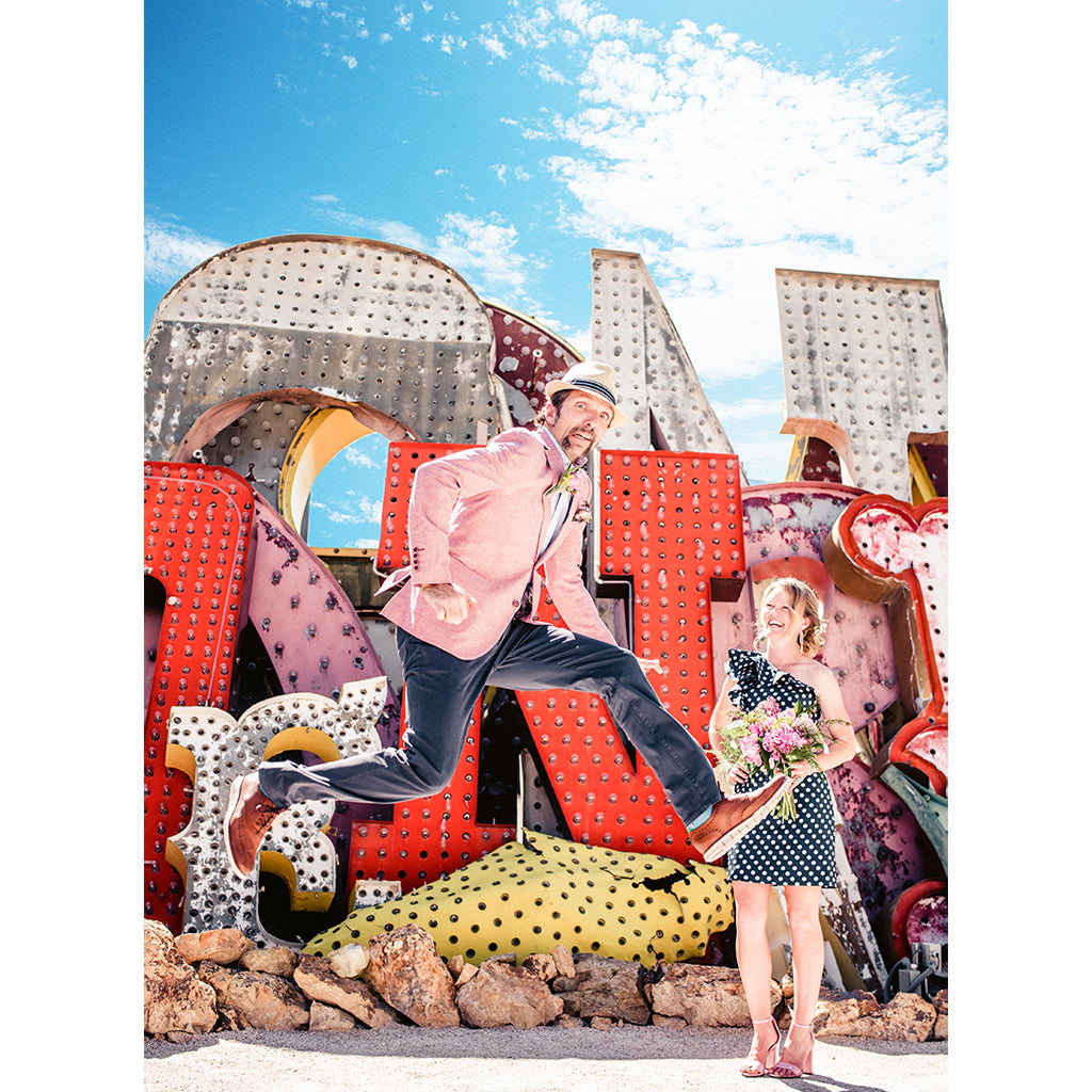 Elopement at Neon Museum